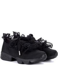 Ganni Black Sneakers Harriet