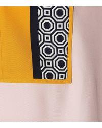 Tory Burch Multicolor Aston Printed Silk Tunic Top