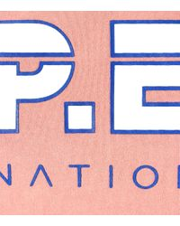 P.E Nation Pink T-Shirt Active Duty aus Baumwolle