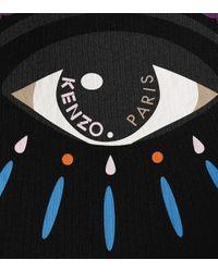 T-shirt Eye en coton imprimé KENZO en coloris Black