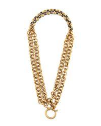 Balenciaga | Metallic Chain-link Necklace | Lyst