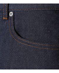 A.P.C. Blue Jeansshorts High Standard