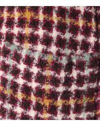 Veste Diana en tweed de laine, alpaga et mohair mélangés Isabel Marant en coloris Multicolor