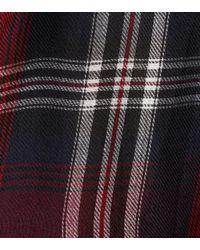 Robe Tilda à carreaux Velvet en coloris Red