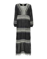 Cafetan Maya en coton Lemlem en coloris Black