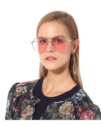 6c240b8691d Lyst - Gentle Monster Jumping Jack 02 Aviator Sunglasses in Pink