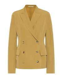 Golden Goose Deluxe Brand Multicolor Blazer Angelica mit Leinenanteil