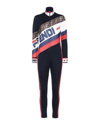 Fendi Multicolor MANIA Jumpsuit
