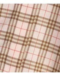 Chemise en coton à carreaux Burberry en coloris Multicolor