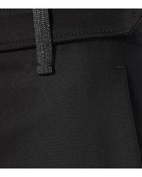 Pantalones ajustados de algodón Brunello Cucinelli de color Black