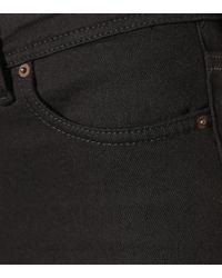 Acne Black Blå Konst Peg Skinny Jeans