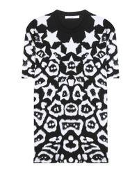 Givenchy Black Printed Cotton T-shirt