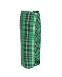 Stella McCartney - Green Darmouth Check Trousers - Lyst