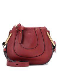 Chloé - Red Nano Hayley Leather Shoulder Bag - Lyst