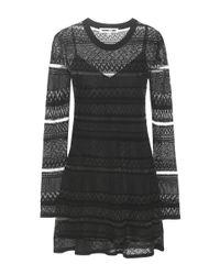 McQ Black Knitted Dress