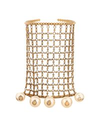 Gucci | Metallic Gold-tone Embellished Bracelet And Rings | Lyst