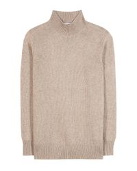 Closed | Natural Wool And Cashmere-blend Sweater | Lyst