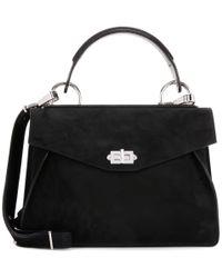 Proenza Schouler | Black Medium Hava Suede Shoulder Bag | Lyst