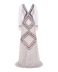 Erdem   Multicolor Raisha Lace Dress   Lyst