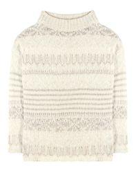 Polo Ralph Lauren | Natural Wool, Silk And Alpaca-blend Sweater | Lyst
