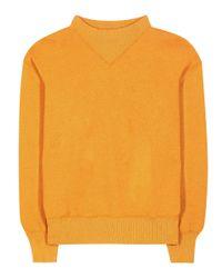 Étoile Isabel Marant - Orange Bailee Cotton-blend Sweatershirt - Lyst