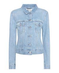 Acne Blue Top Mid Vintage Denim Jacket