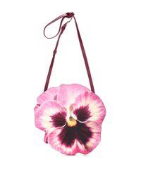 Christopher Kane Pink Pansy-shaped Shoulder Bag
