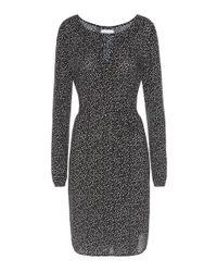 Velvet | Black Persephone Printed Dress | Lyst