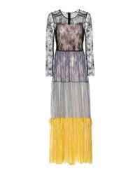 Philosophy Di Lorenzo Serafini Multicolor Lace Dress