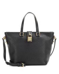 Dolce & Gabbana | Black Dolce Shopping Medium Shoulder Bag | Lyst