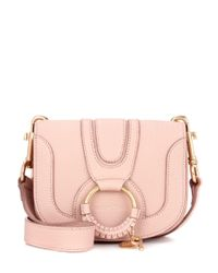 See By Chloé Pink Hana Small Leather Shoulder Bag