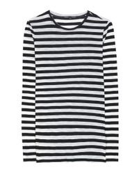 Proenza Schouler   Multicolor Striped Cotton Top   Lyst