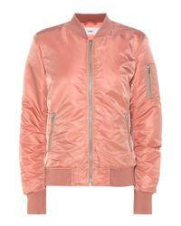 Closed Pink Bomber Jacket