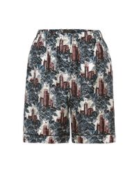 Burberry | Multicolor Printed Pyjama Shorts | Lyst