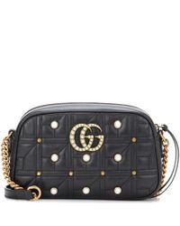 Gucci | Multicolor Gg Marmont Matelassé Leather Crossbody Bag | Lyst