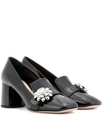 Prada | Black Patent Leather Pumps | Lyst