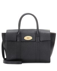 Mulberry | Black Bayswater Small Leather Tote | Lyst
