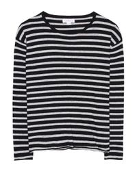 Velvet - Multicolor Britan Striped Top - Lyst