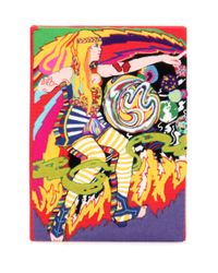 Olympia Le-Tan Multicolor Lucy Book Clutch
