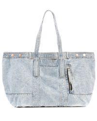 3.1 Phillip Lim | Blue Denim Tote Bag | Lyst