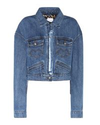 Magda Butrym Blue Arizona Denim Jacket