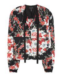 Rag & Bone - Multicolor Floral Print 'verna' Top - Lyst