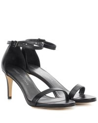 Stuart Weitzman - Metallic Nunaked Leather Pumps - Lyst