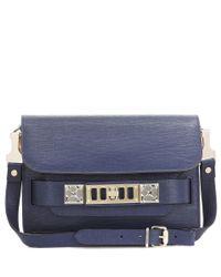Proenza Schouler   Blue Ps11 Mini Classic Leather Shoulder Bag   Lyst