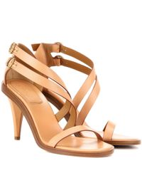 Chloé Multicolor Niko Leather Sandals