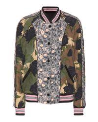 COACH Multicolor Reversible Bomber Jacket