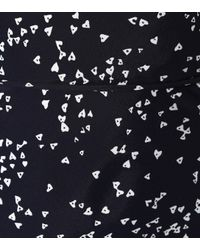 Rebecca Vallance Multicolor Bedrucktes Slipdress