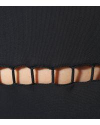 Zimmermann Black Corsair Ladder One-piece Swimsuit