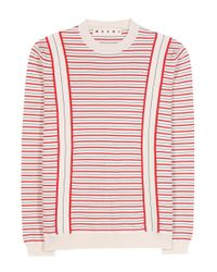 Marni   White Cotton Sweater   Lyst