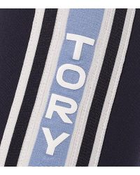 Leggings cropped di Tory Sport in Blue